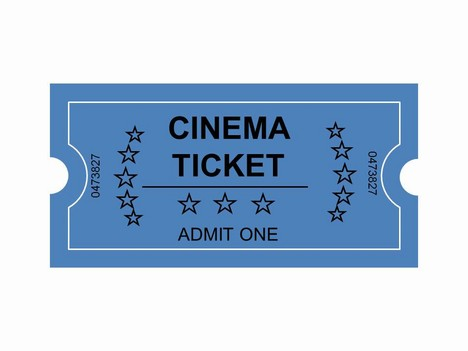 Theater Ticket Clipart Clipart Kid – Theater Ticket Template