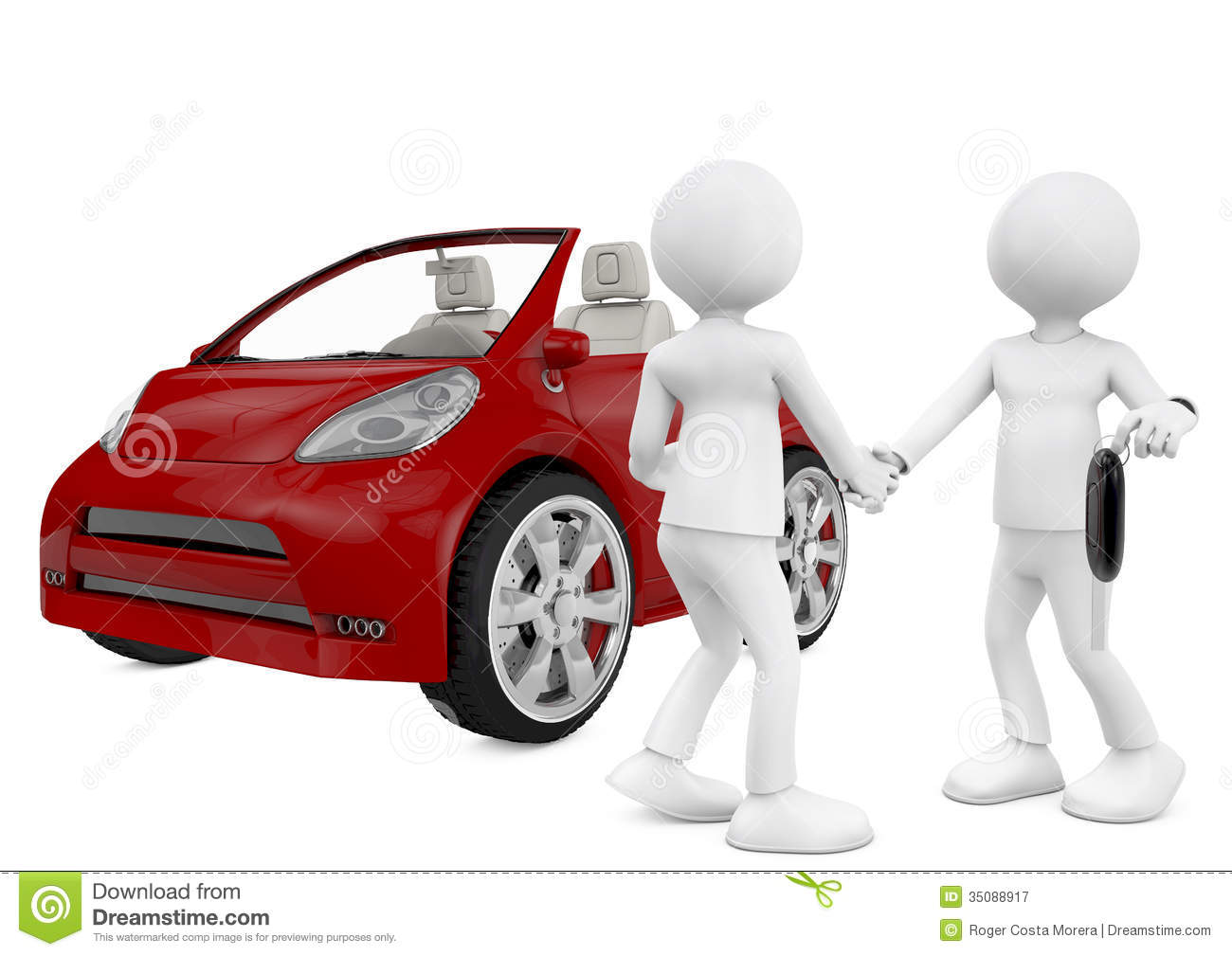 Clipart Car Dealership Buying A