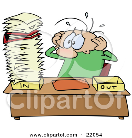 Funny Stressed Guy Clipart Clipart Kid