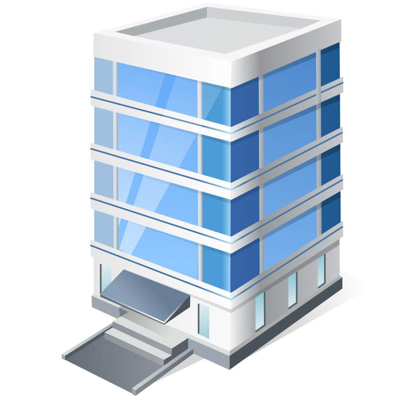 Clipart   Office Building