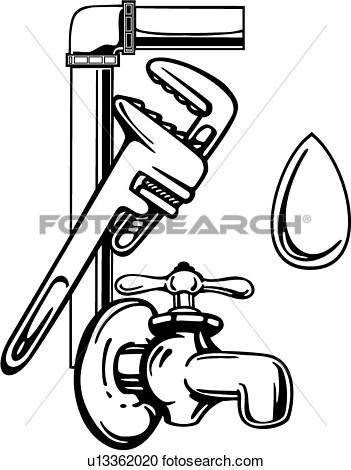 Elements Faucet Occupations Plumbing Sign Spigot Tools Wrench