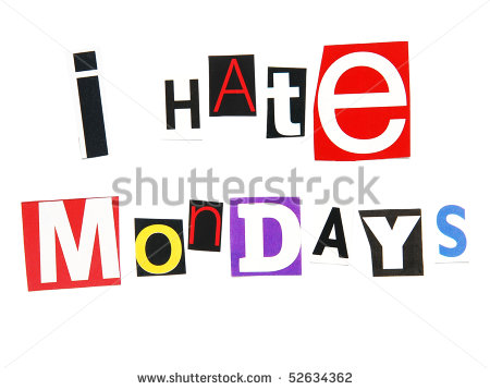Gallery For   I Hate Monday Clipart