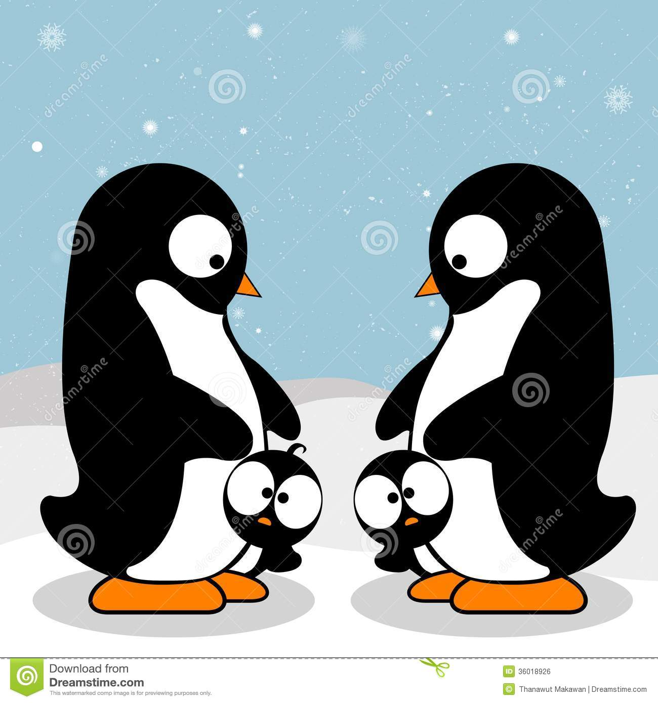 Happy Penguins Clipart - Clipart Suggest