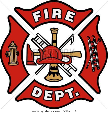 Picture Or Photo Of A Generic Fire Department Emblem In  Eps Format