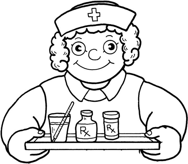 Registered Nurses At Work Clipart Image Clipart Com