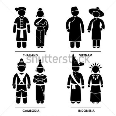 Southeast Asia   Thailand Vietnam Cambodia Indonesia Man Woman People