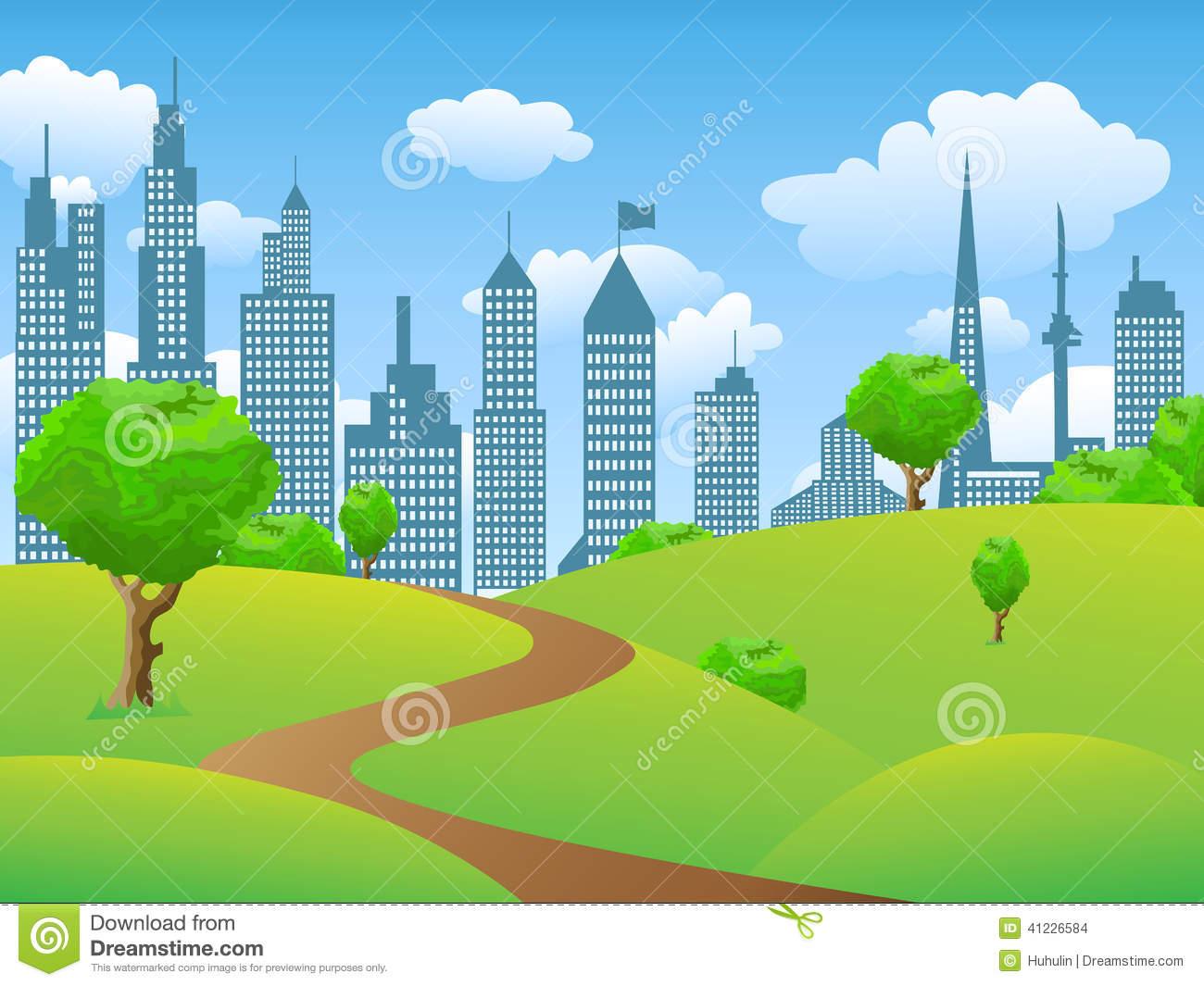 City Landscape Clipart - Clipart Suggest