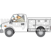 Utility Trucks Clipart By Dennis Cox   Page  1 Of Royalty Free Stock