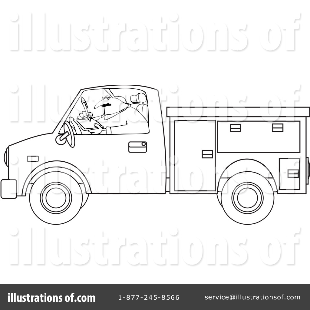 Worker Clipart  1062807 By Djart   Royalty Free  Rf  Stock