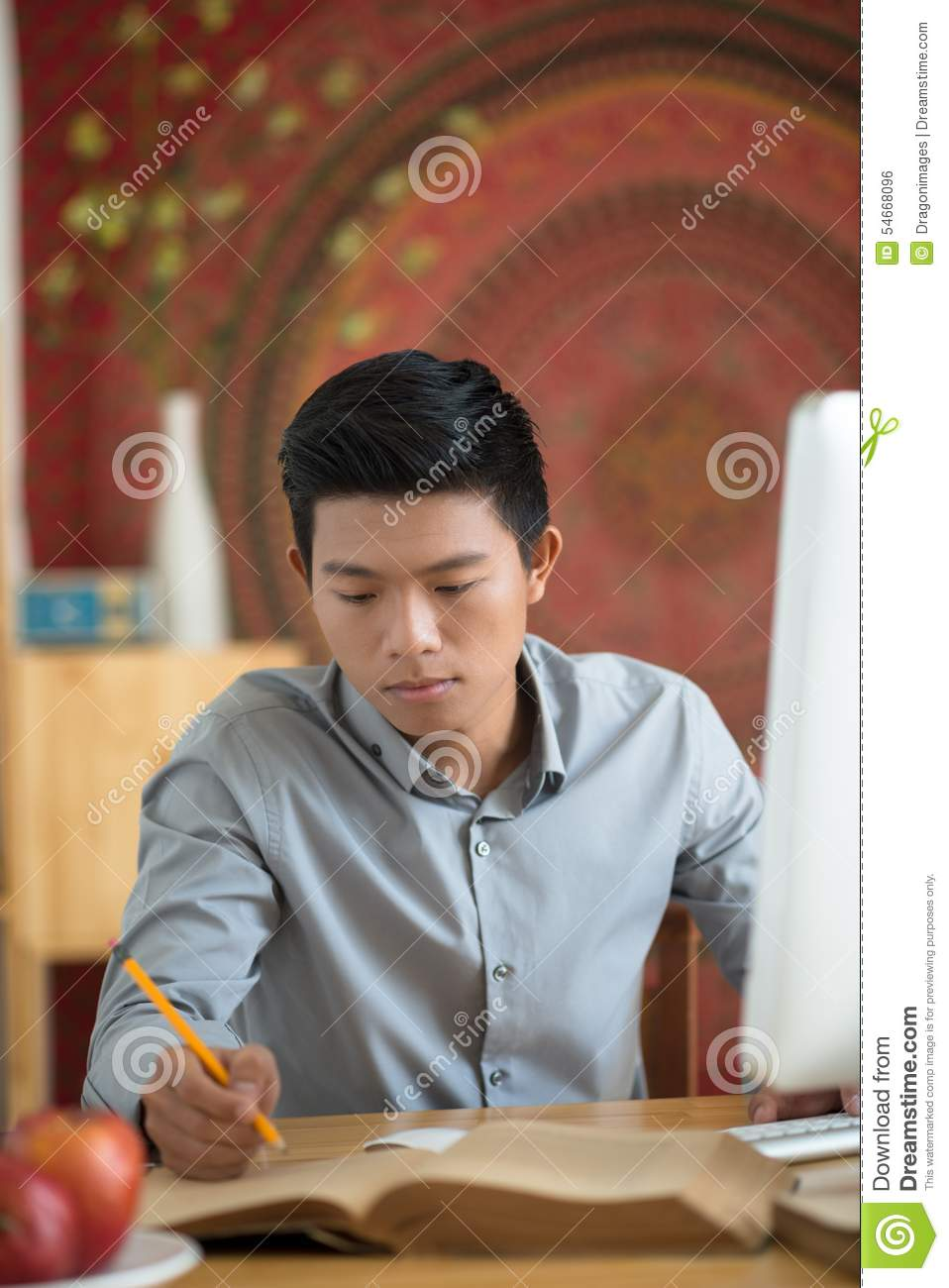 Writing Down Ideas Stock Photo   Image  54668096