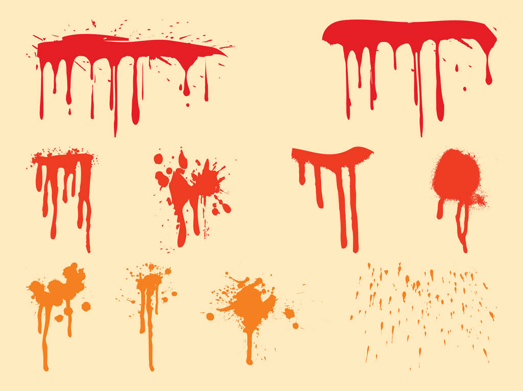 Dripping Paint Clipart - Clipart Kid