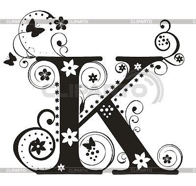 Capital Letters   Serie Of High Quality Graphics   Cliparto   7