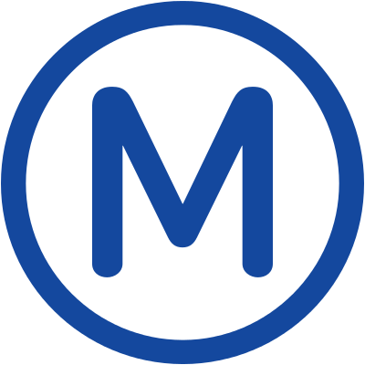 Description Metro M Svg