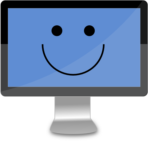 happy-computer-screen-clip-art-at-clker-com-vector-clip-art-online ...
