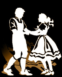 Polka Dancers Clip Art The Polka Is Danced In Pairs
