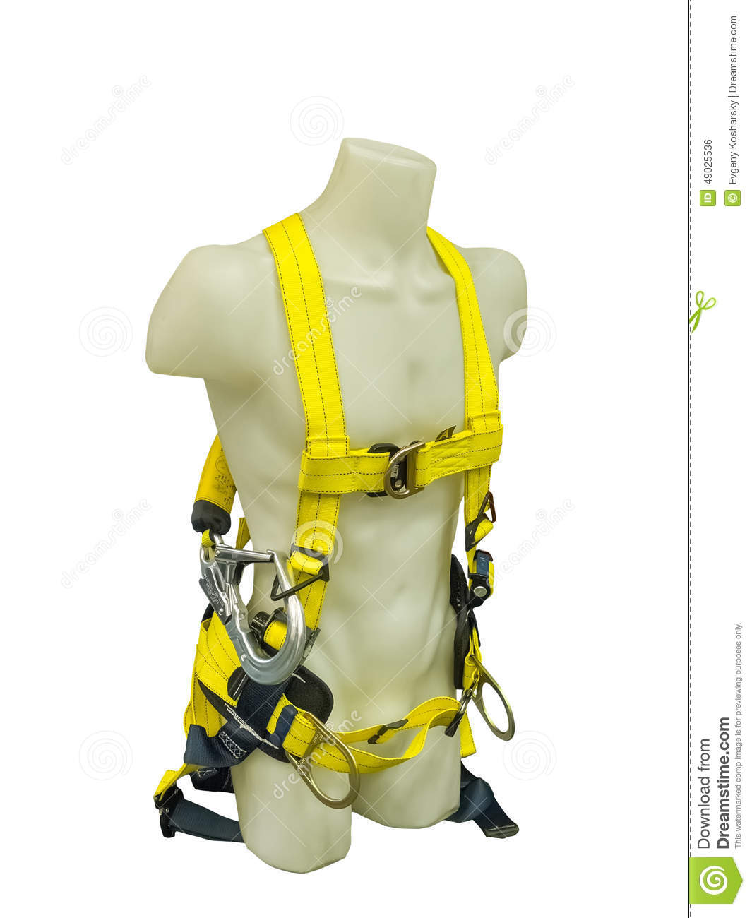 Safety Harness Equipment Stock Photo   Image  49025536