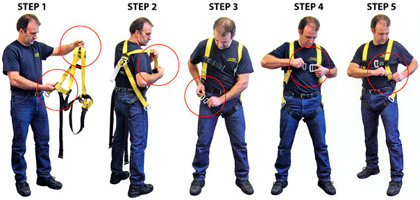 Safety Harness Inspection
