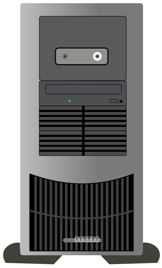 Computer Tower Clipart - Clipart Kid