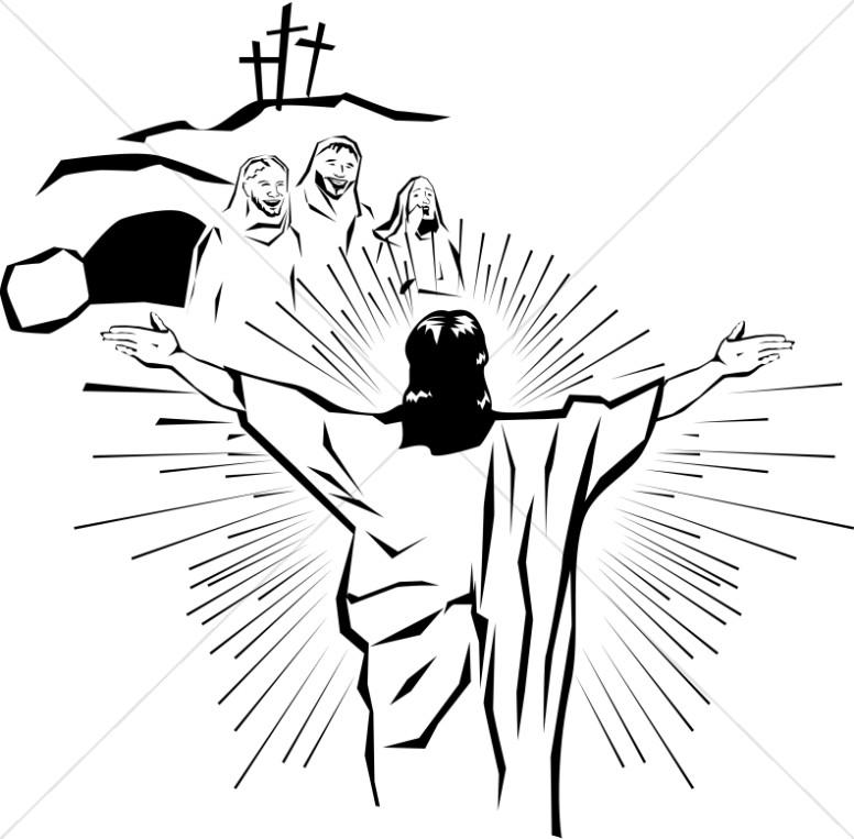 Jesus Is Risen Clipart...