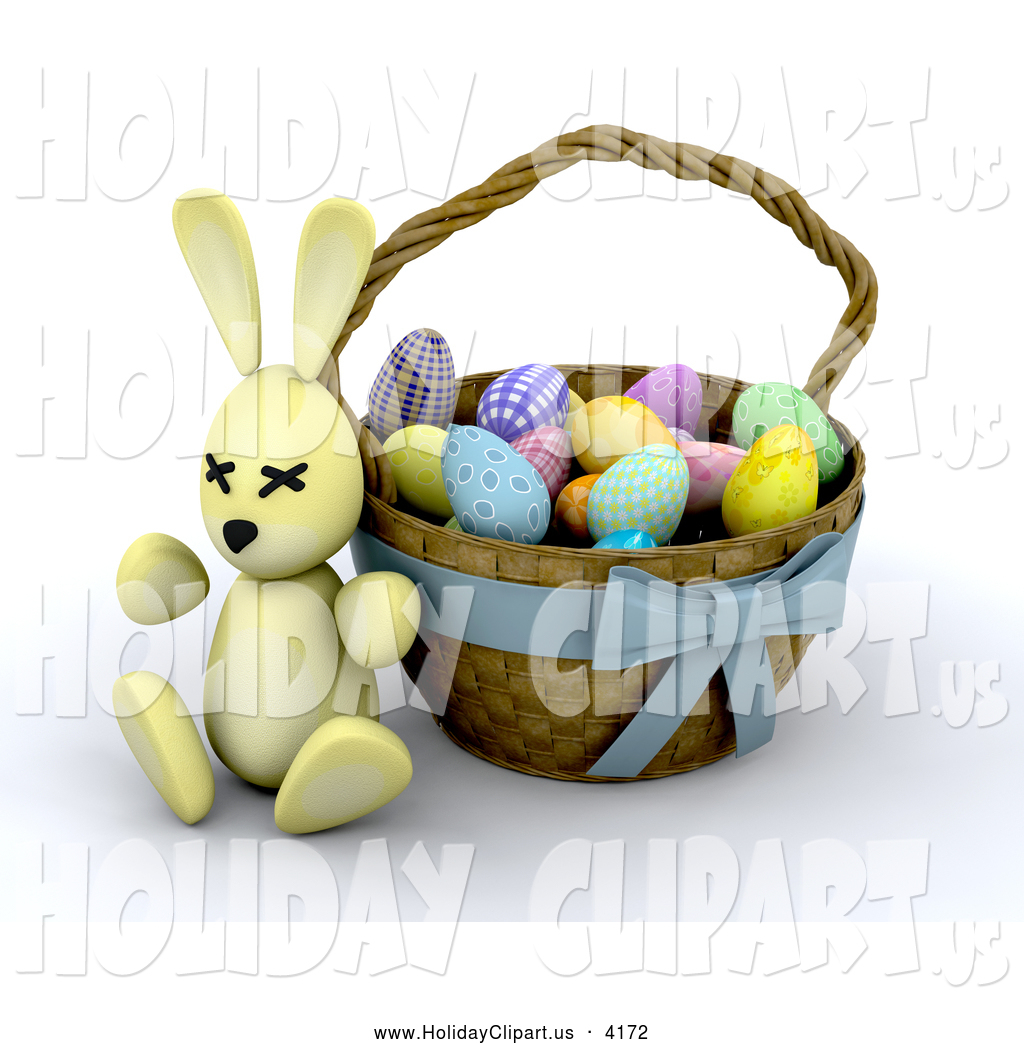 clip art for easter baskets - photo #37
