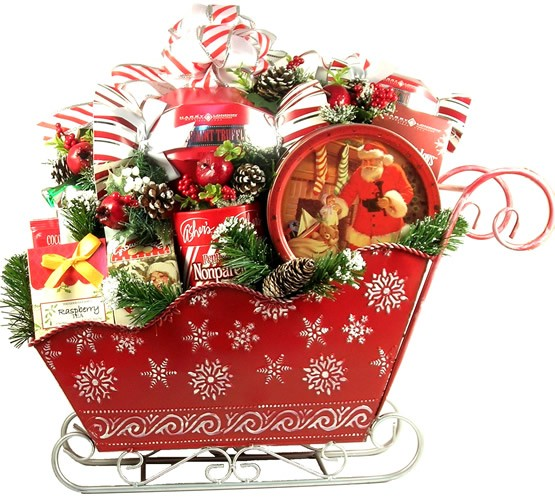 Gift Basket Clipart : Holiday basket clipart suggest