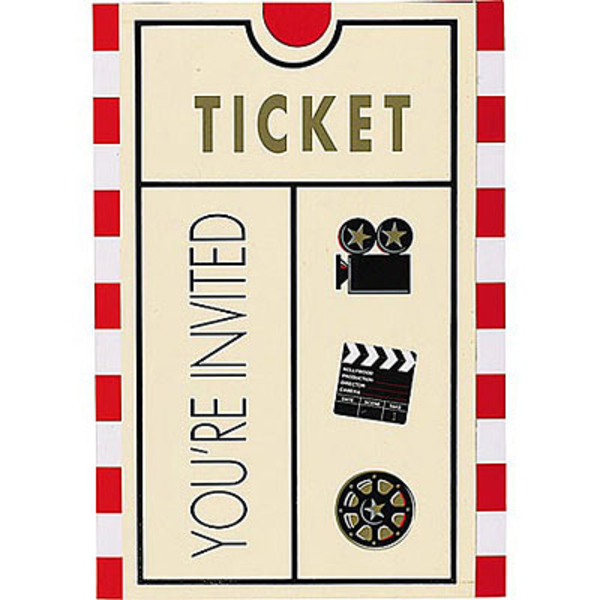 Movie Ticket   Free Images At Clker Com   Vector Clip Art Online