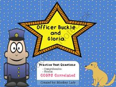 Officer Buckle And Gloria Comprehension And Phonics Questions From
