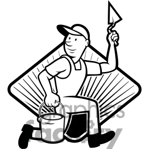 Plaster Worker Clipart - Clipart Kid