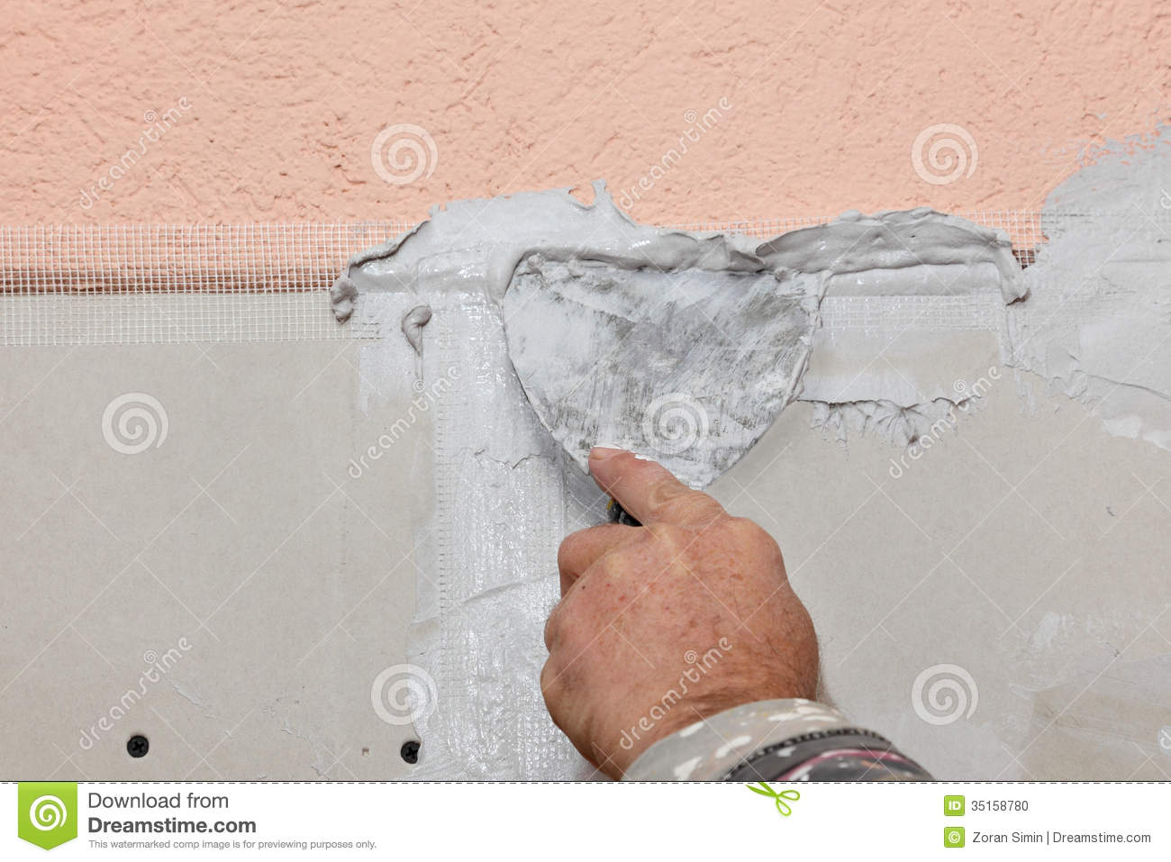 Plaster worker clipart - clipart suggest.