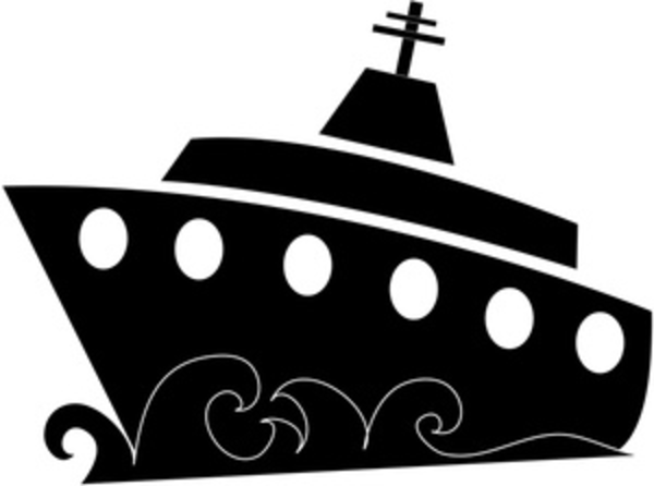 Boat Silhouette   Free Images At Clker Com   Vector Clip Art Online