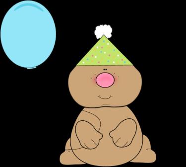 Boxer Birthday Clipart