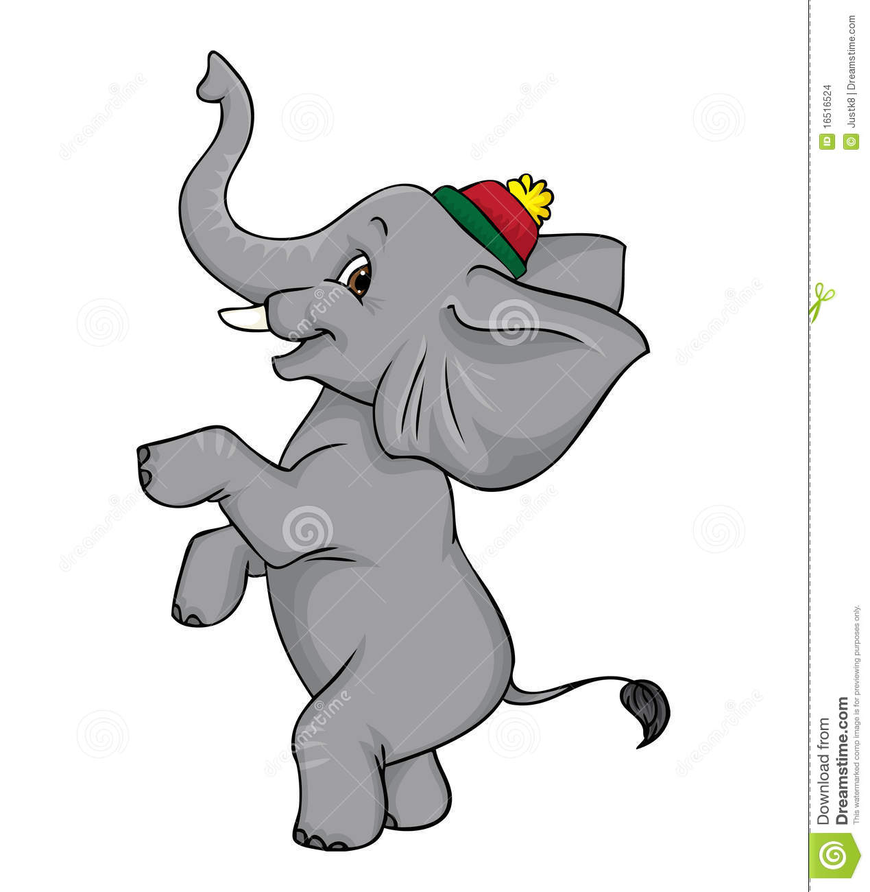 Circus Elephant Clipart - Clipart Suggest