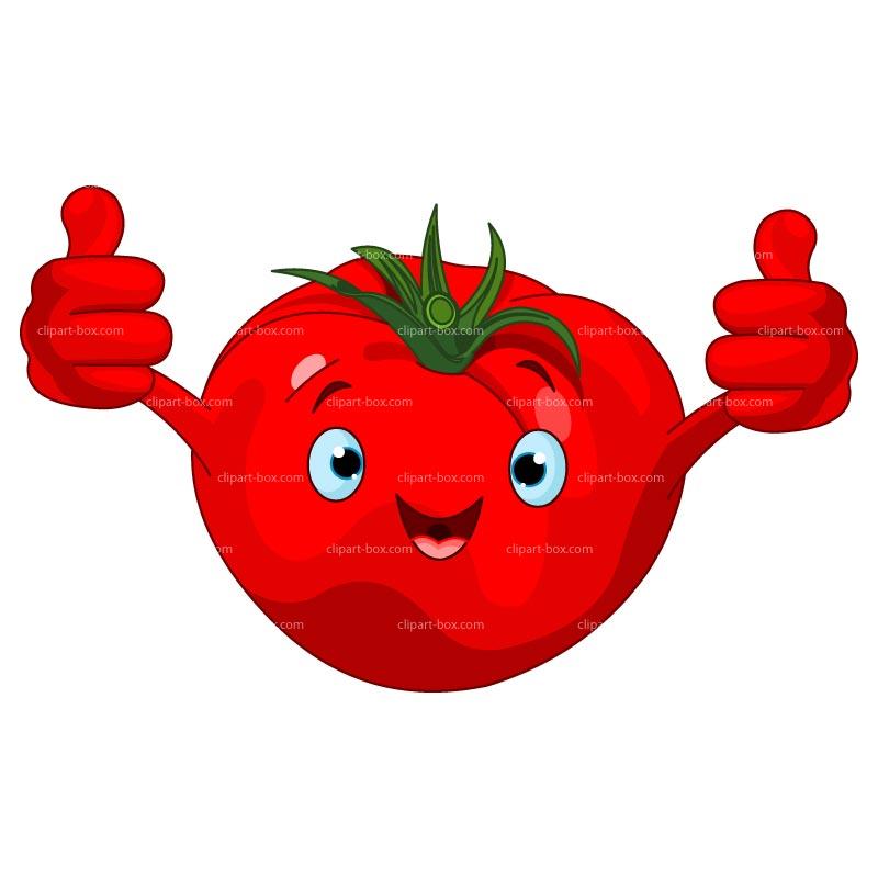 Cartoon Tomato Clipart - Clipart Suggest