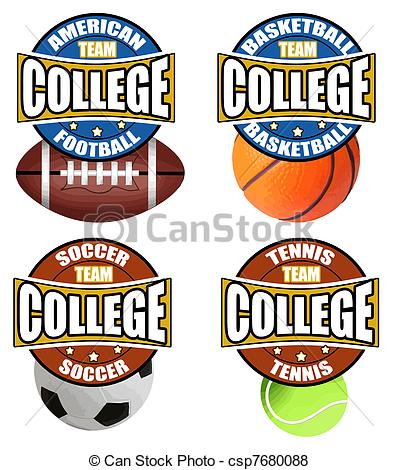 College Sports Clipart - Clipart Kid