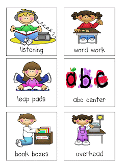 Free Clip Art for Literacy Centers