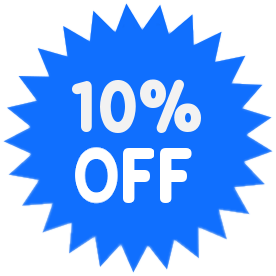Office Sale Promo Percent Off Blue 10 Percent Off Light Blue Png Html