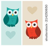Owl Family Cute Clipart Free Stock Photo   Public Domain Pictures