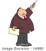 Person Pointing Clipart
