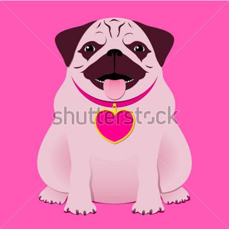 Pug Birthday Clipart   Cliparthut   Free Clipart