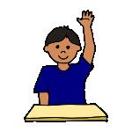 Raise Hand Clipart - Clipart Suggest