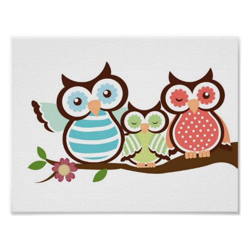 Two Owls Sitting On A Tree Branch Clip Art   Two Owls   Hd Wallpapers