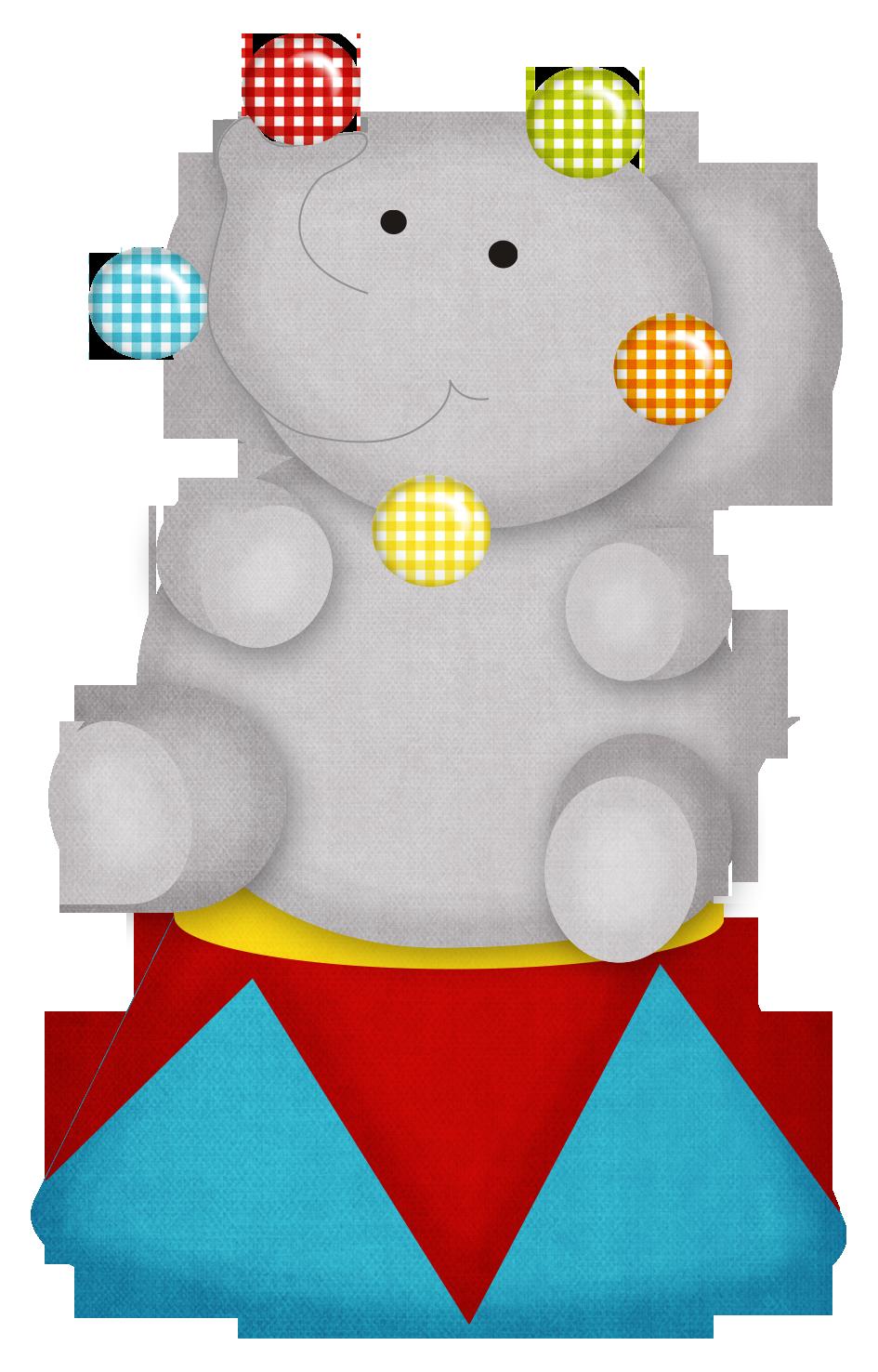 Circus Elephant Clipart - Clipart Kid