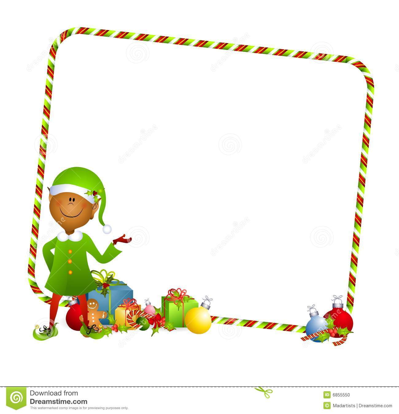 Christmas Toys Border : Elf borders and frames clipart suggest