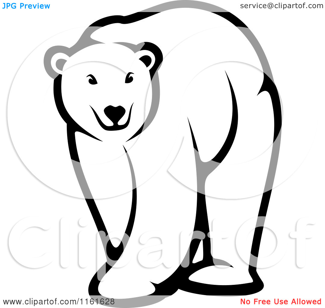 Baby Polar Bear Clipart   Clipart Panda   Free Clipart Images
