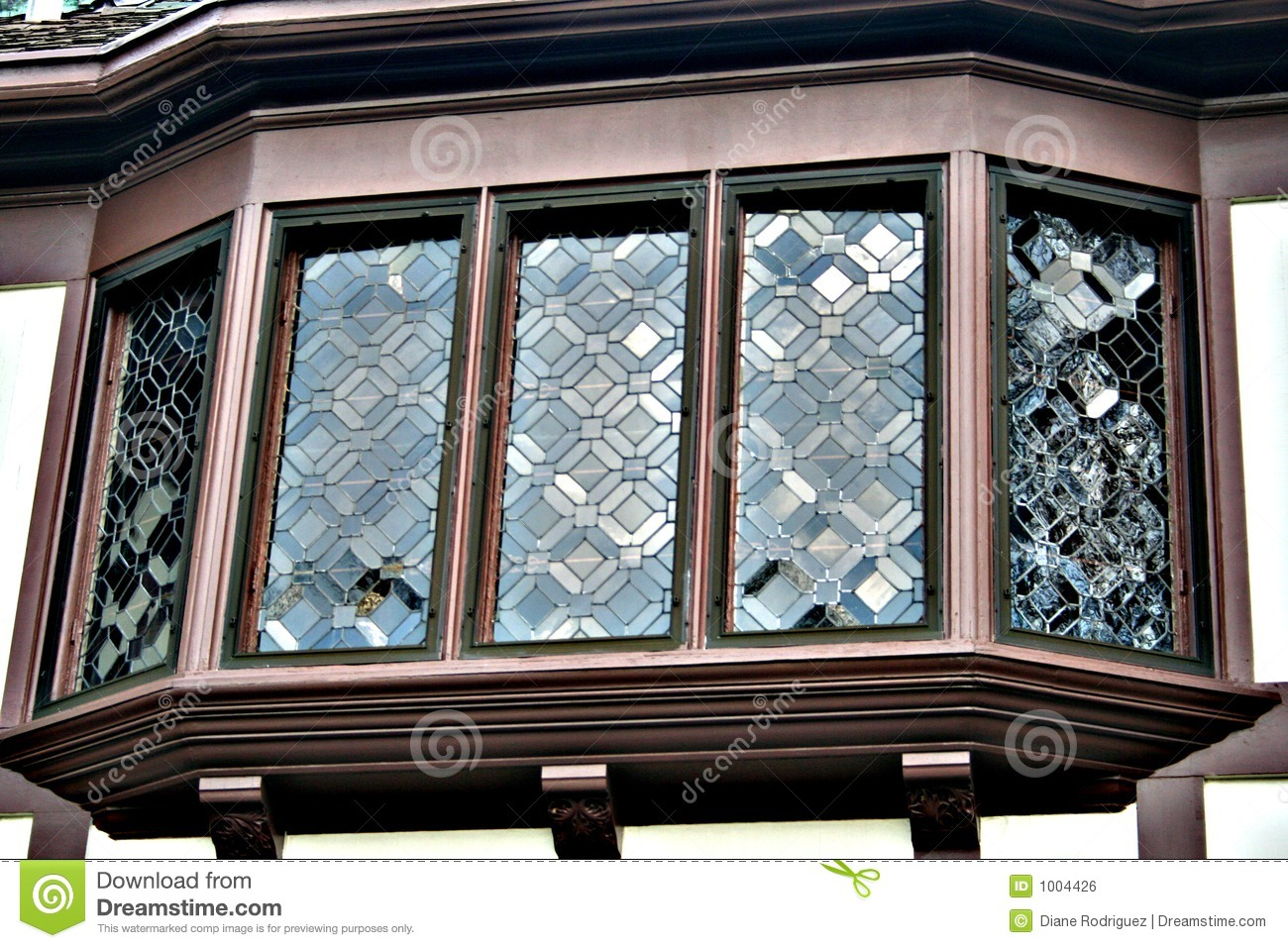 Bay Window From Mansion In