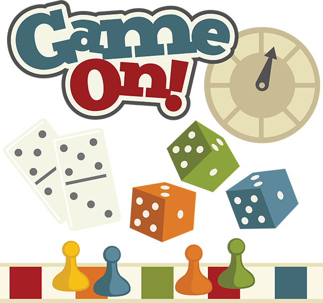 Board Game Pieces Clip Art Game On  Svg File Board Game