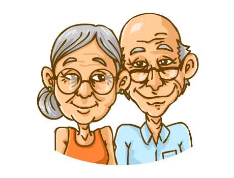 Cartoon Pictures Of Old People   Cliparts Co
