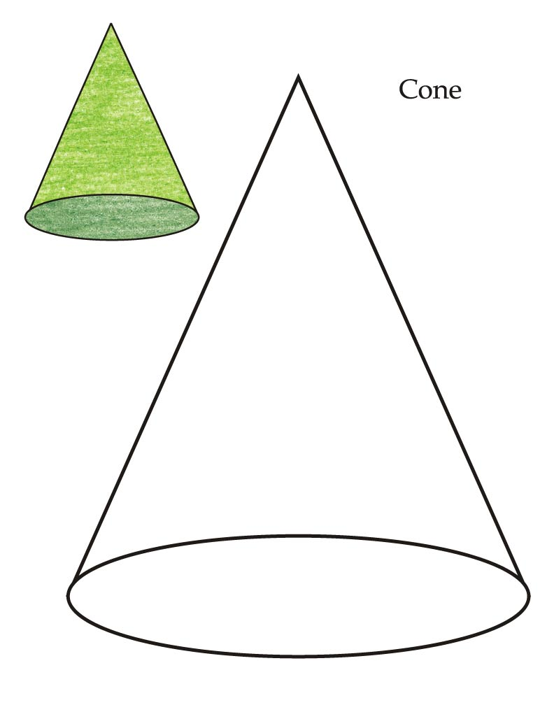 Cone Shape Cliparts   Clipart Best
