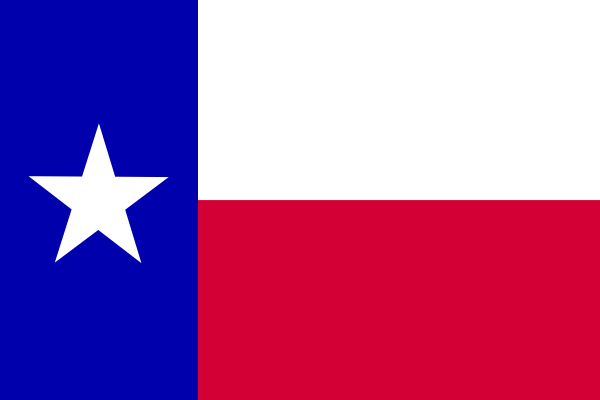 Flag Of The State Of Texas Clip Art At Clker Com   Vector Clip Art