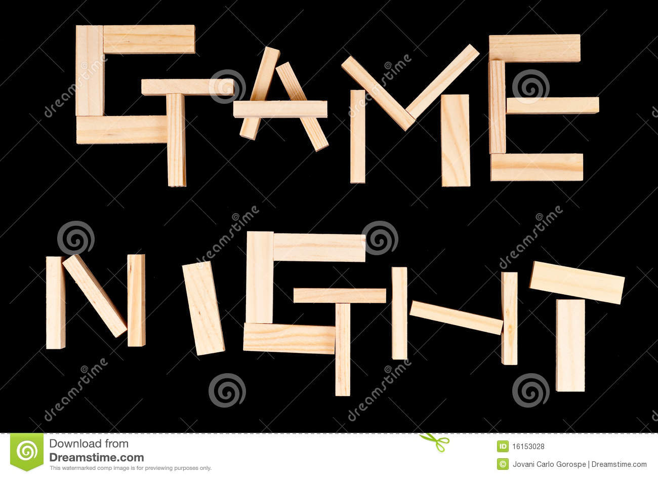 Game Night Royalty Free Stock Photos   Image  16153028
